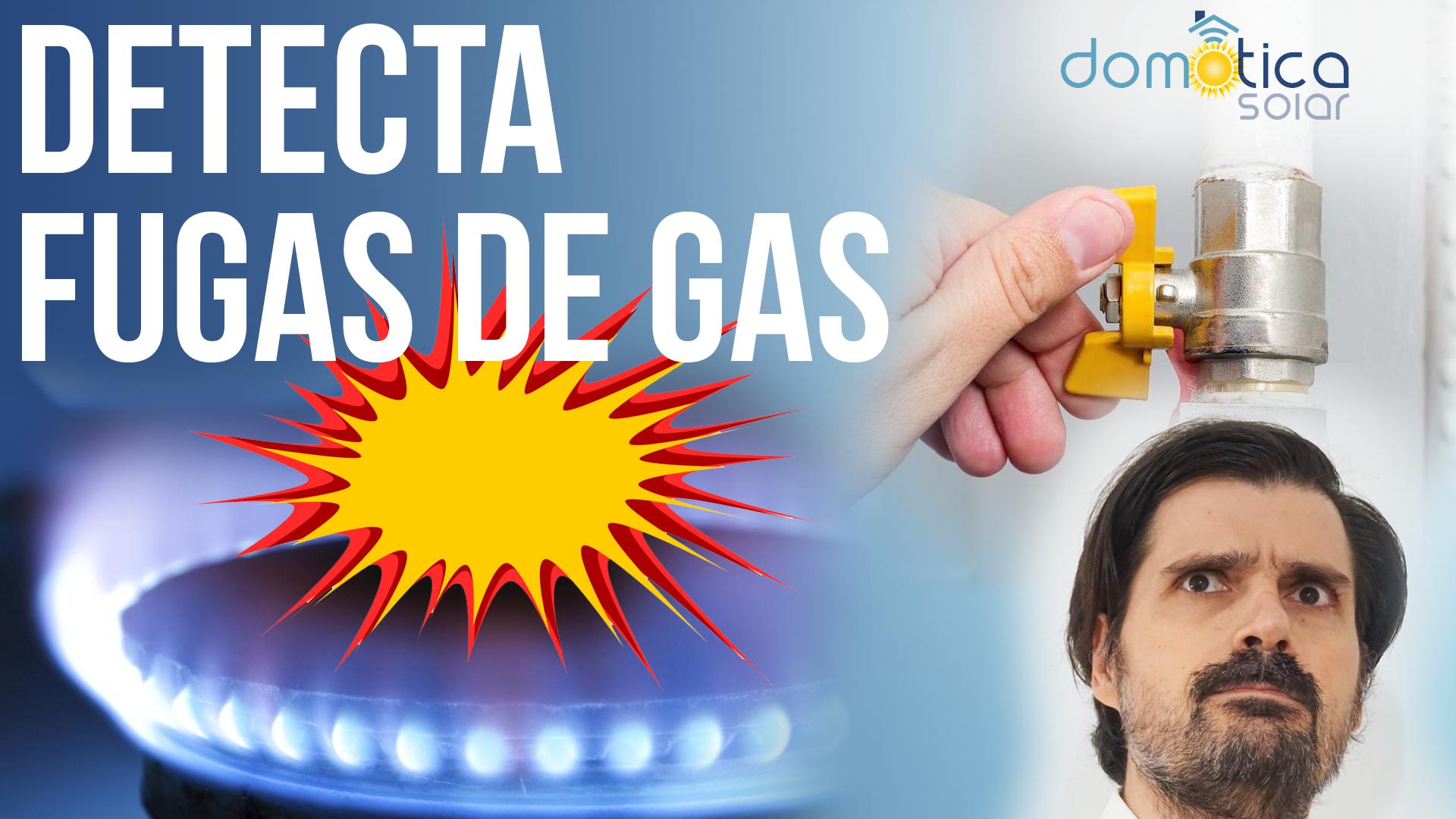 Domótica Solar - Detecta fugas de gas