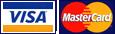 Realiza tu pago seguro con Visa y Mastercard