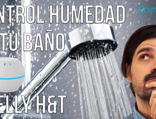 Shelly H&T: Controla la humedad en tu baño, fácil y rápido!